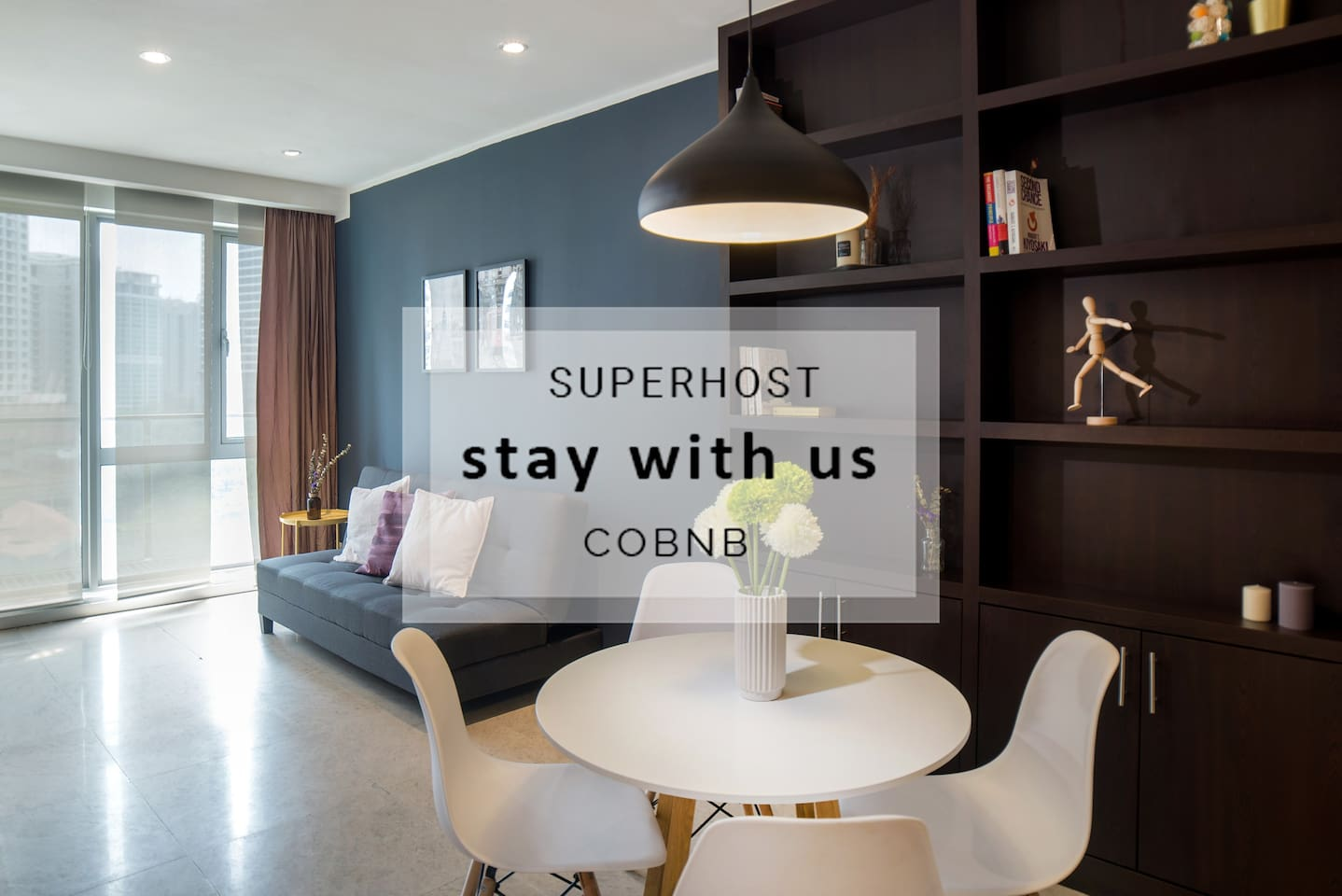 Stay with us and experience cozy home away feel