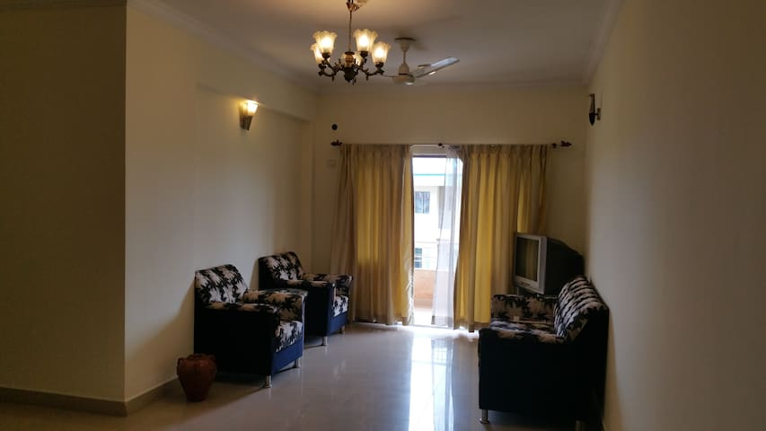 Spacious , Bright and Airy 3BHK Apt in Dona Paula