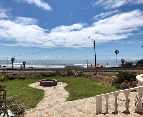 Unobstructed Beach View- Steps from Sand- Sleeps9!