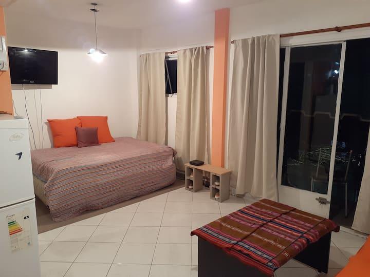 Confortable monoambiente en Villa Devoto
