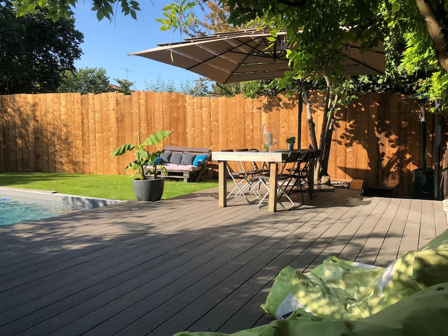 Salon de jardin et coin détente