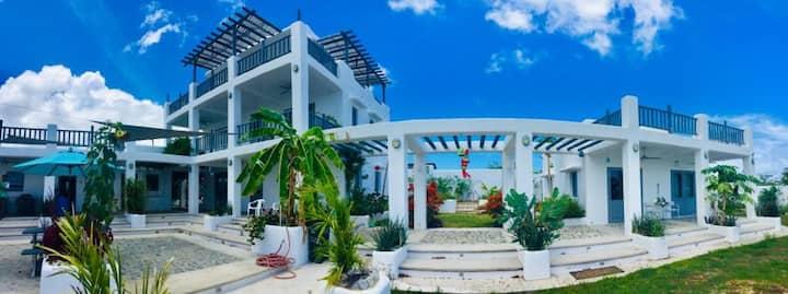 Villa Casona Blanca, Green home with edible garden