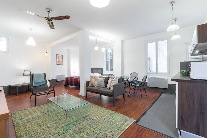 l'appartement vert