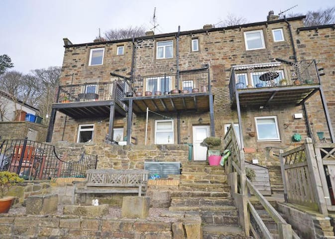 Terraced 3 Floor Cottage - Farnhill - Hus