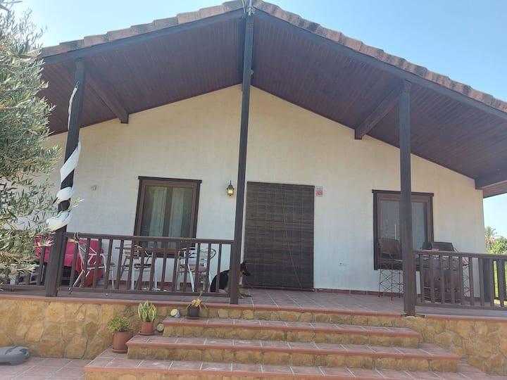 Casa de campo a 2kms de la playa