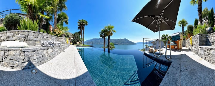 Superhost 5* Deluxe-Resort and heat. Infinity-Pool