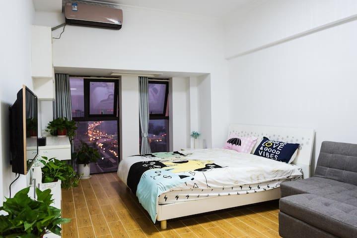 高层公寓景观房 - Changsha Shi - Lejlighed