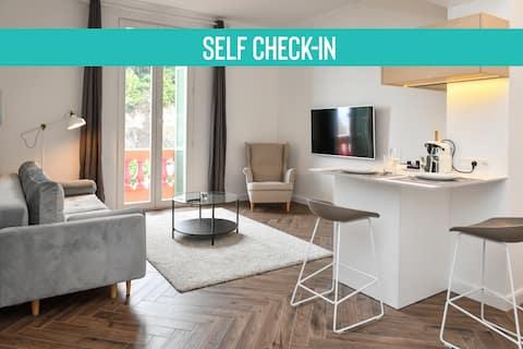 1 Bedroom Apartment in Beausoleil, Next to Monaco