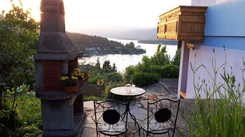 Apartement fantastic  Wörthersee lake view + pool