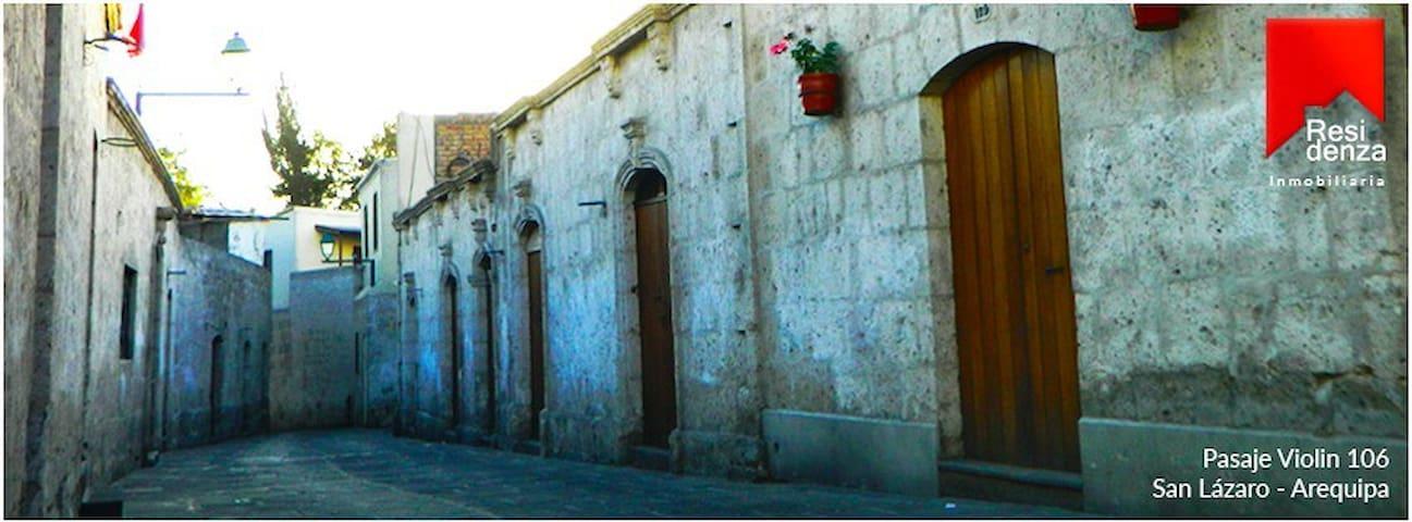 Casa acogedora en barrio histórico de San Lázaro - Arequipa - House