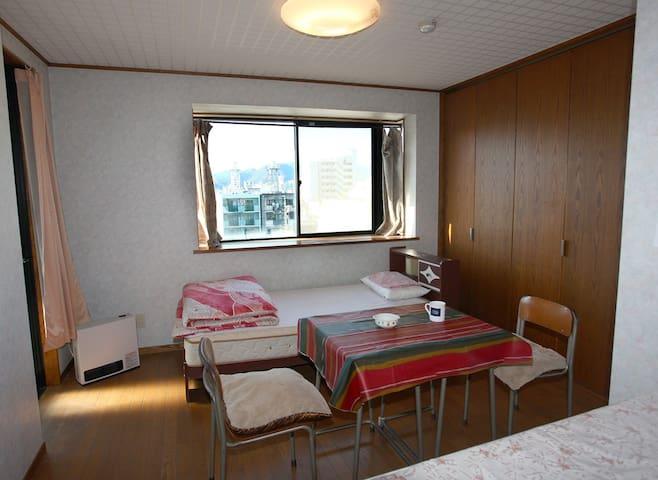 space M B1 twin room - Aoi-ku, Shizuoka-shi - Lägenhet