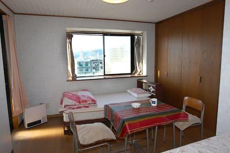 space M B1 twin room - Aoi-ku, Shizuoka-shi - Appartamento