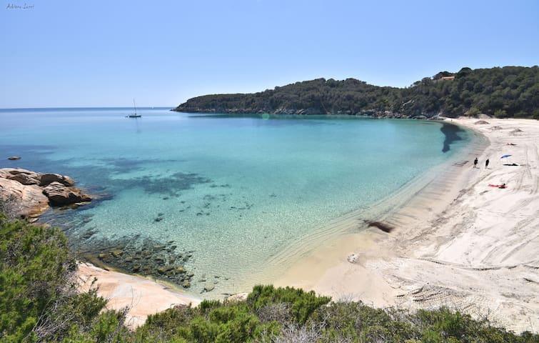 Appartamento a 2 passi dalla spiaggia di Fetovaia