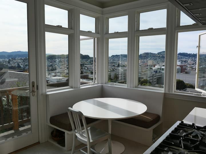 Artist Apartment with Views