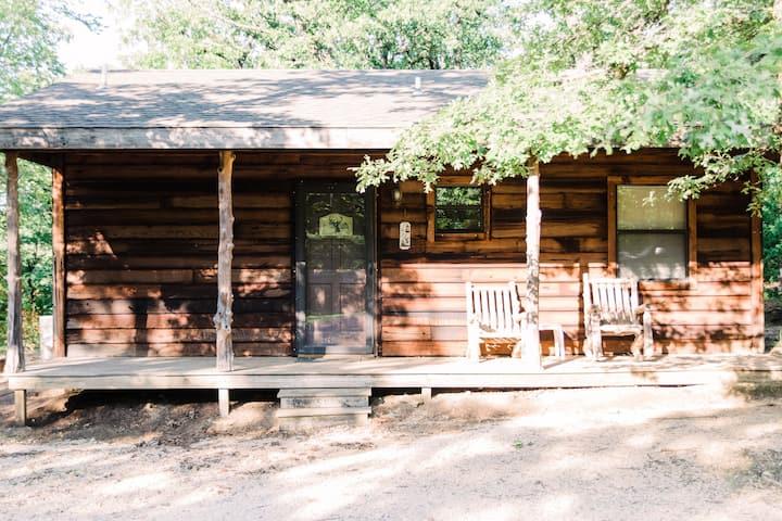 Rustic Woodland Cabin