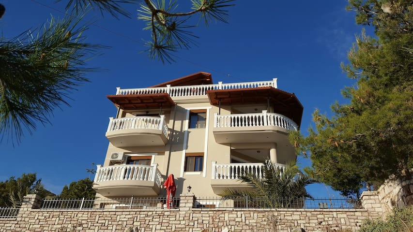 In our villa we have 2+1 apartment