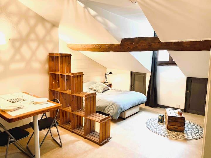 Studio ❀ Spacieux & Calme - Quartier Strasbourg