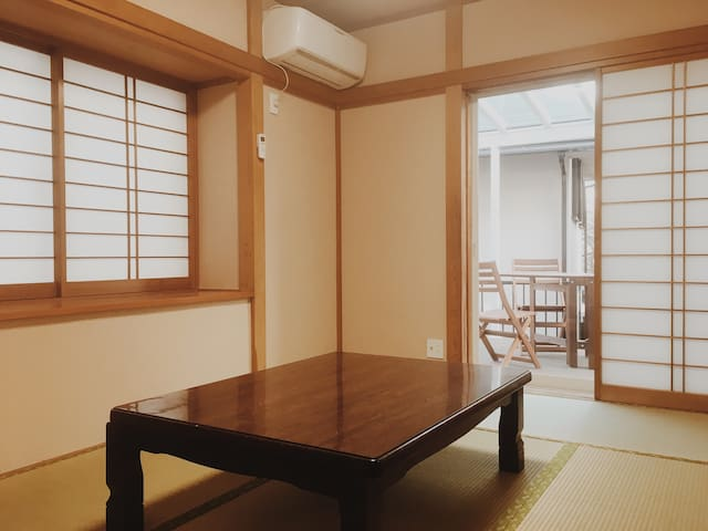 Sunny Japanese Room / 13min to Yokohama / WiFi