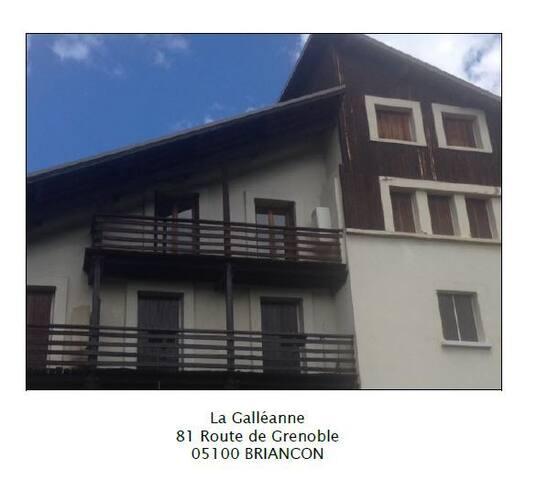 Chambre dans un appart de 60m² - Briançon - Appartement