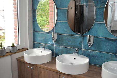 Mystic River Design Hostel- a shared 3-bed room