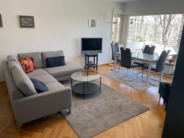 Möblierte Wohnung mit  Schwimmbadzugang