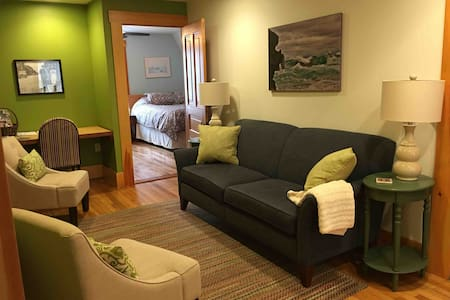 Eco-friendly apt in the heart of Marquette