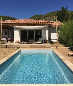 Nice and peaceful House with private pool & garden - Villa
