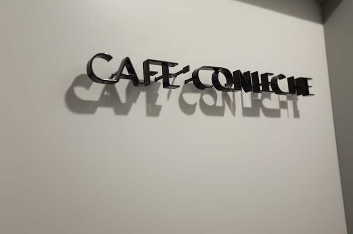 Cafe' con leche 設計家居+丹麥原裝丹普床墊、雙陽台,位於市政新光特區交通便利鬧中取靜