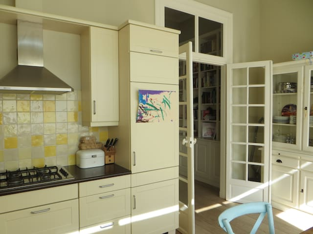 Large authentic family house in Utrecht best area