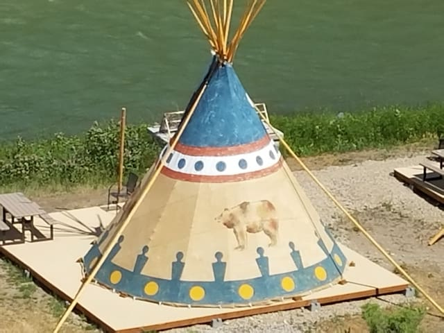 Cody Trout Ranch Camp Grizzly Tipi - Cody - Tipi