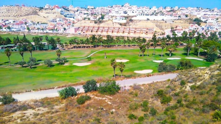First Line Golf Apartment 2 beds 2 baths - Quesada
