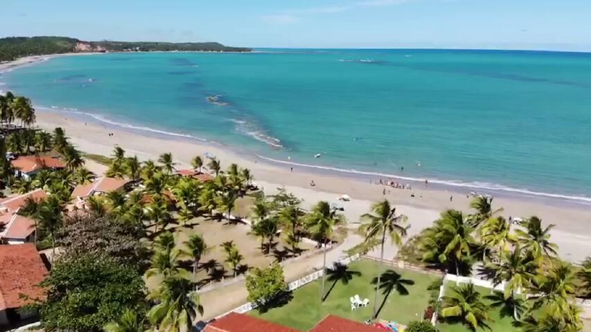 Praia tranquila e linda