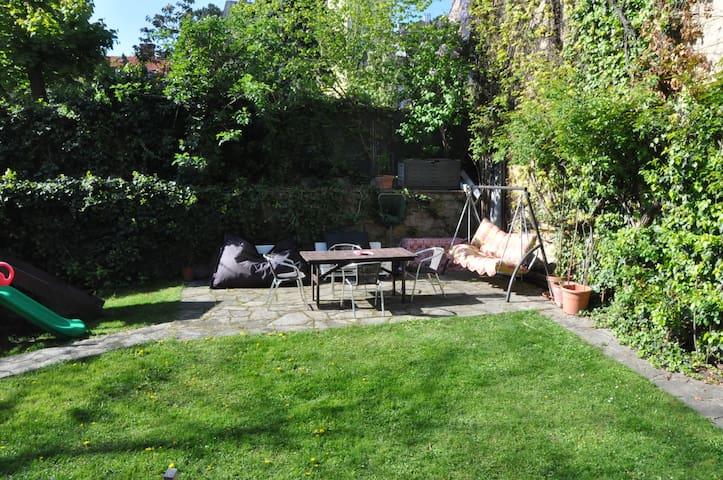 Comfortable appartement with garden - Viyana - Daire