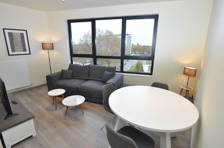 Mooi en modern nieuwbouwappartement te Evere
