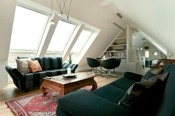 Vienna-Heights, have a great view on the city - Wenen - Appartement
