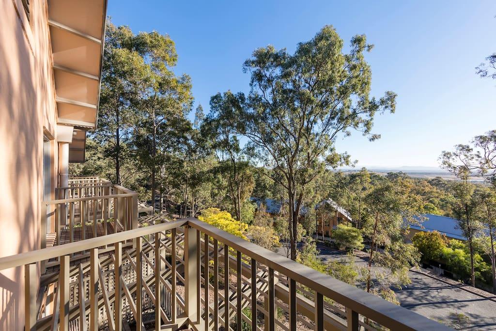 3 Bedroom Villa: Private Balcony