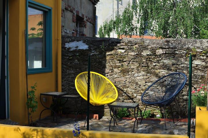 Une petite terrasse où se poser et se reposer.