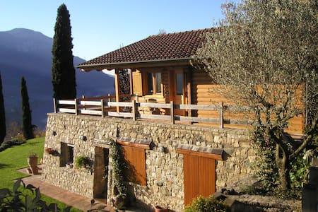 chalet panoramico vista lago garden - Ranzanico - Maison