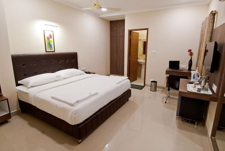 Double bed spacious view
