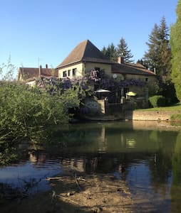 Beau moulin en Bourgogne - Palleau - Bed & Breakfast