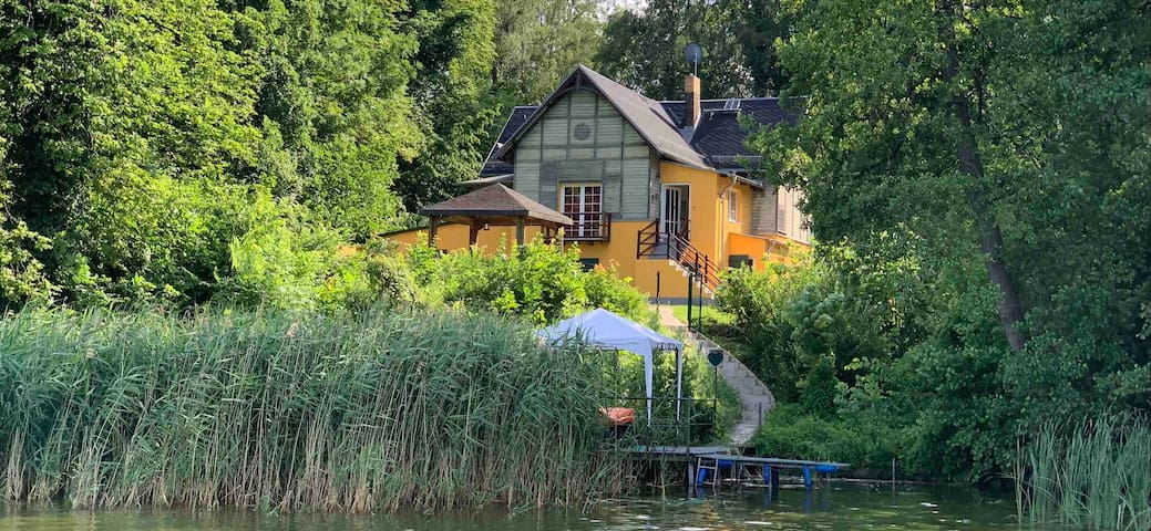 Villa am Wentowsee, Boot, Räder, Wlan
