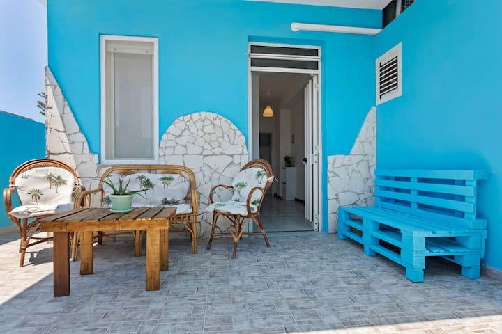 Maison de vacances lumineuse à Santa Maria del focallo près de la mer