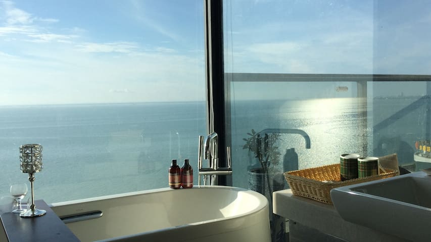 豪华高层一线海景三房公寓