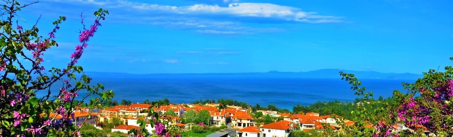 2 Bedroom Apartment with Garden and Sea View - Kriopigi - Appartement