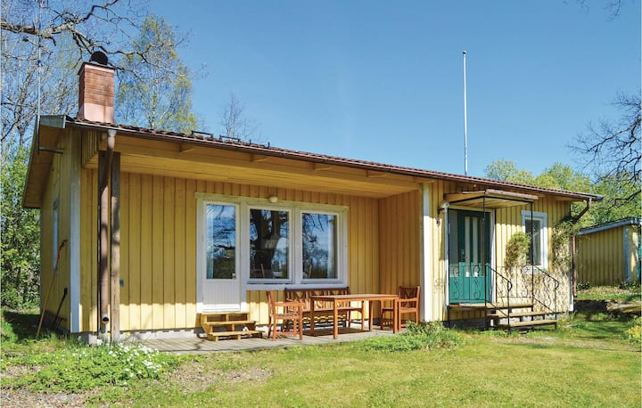 Amazing home in Norrtälje with Sauna and 3 Bedrooms