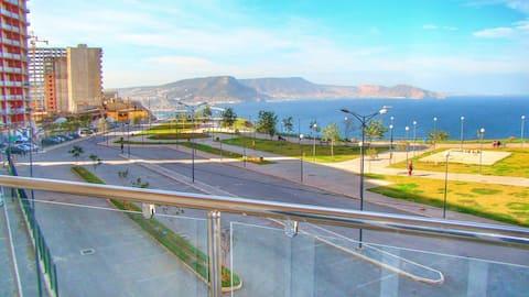 アパートメントアキッドオラン海の眺め50メートルホテルルメリディアン