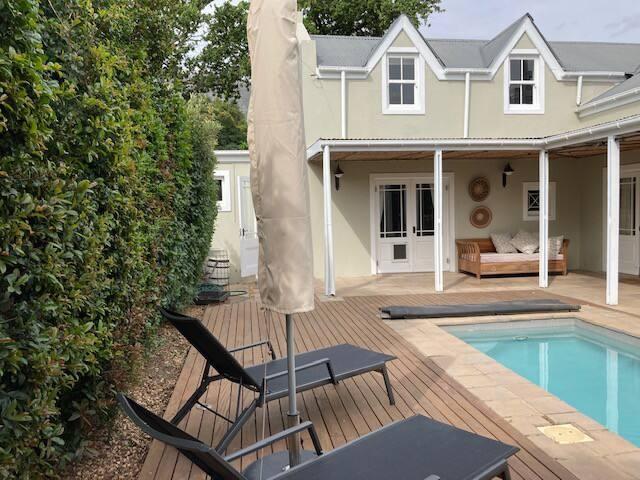 Self-catering cottage in Franschhoek
