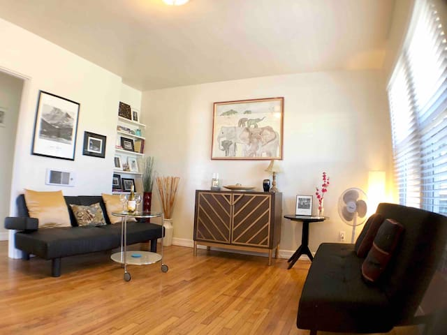 New! Clean/Private Apt in North Park, Walk to All