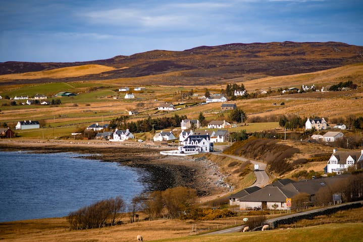 A comfortable home in a charming Highland village