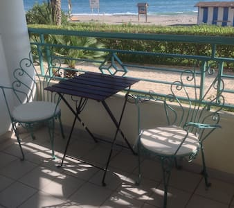 Directly on the Beach!+Pool&Parking - Apartment